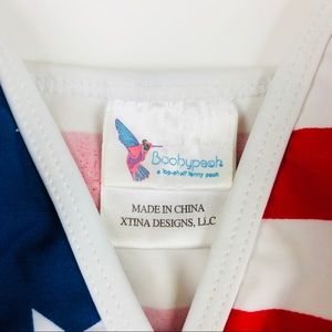 Boobypack Tops - Boobypack Limited Edition USA Flag Top Tankini 46ddbbe87